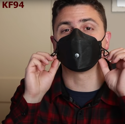 One man's mission to find the best face masks | Yahoo News